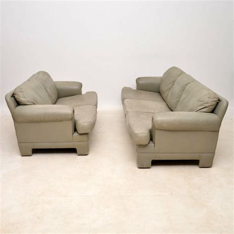 Tetrad Sofas Second by 1970 S Vintage Pair Of Leather Sofas By Tetrad