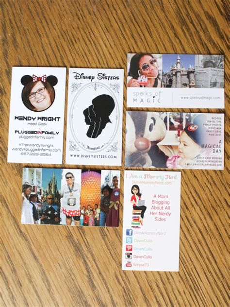 Disney Business Card Template by The Best Business Cards From Disney Social Media