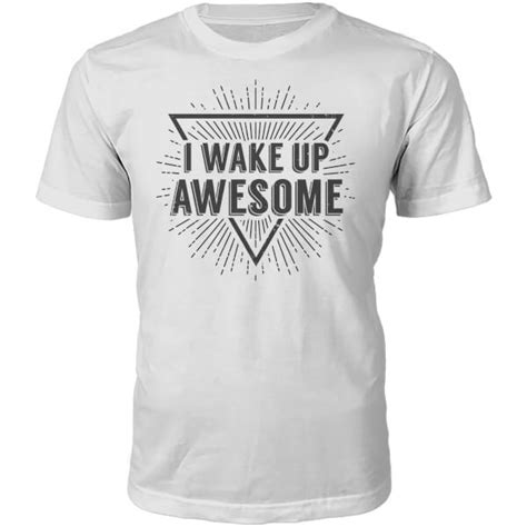 Slogan Tees Are Back by I Up Awesome Slogan T Shirt White Merchandise