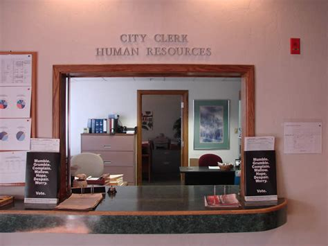 he office of the city clerk is an administrative