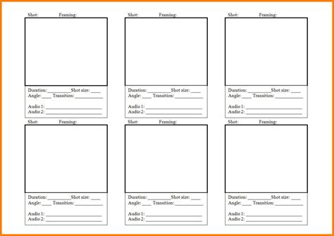 digital storyboard templates 6 digital storyboard templates defense