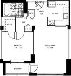 One Devonshire Floor Plan by Devonshire Place Apartments 187 Floor Plan D 1 Bedroom