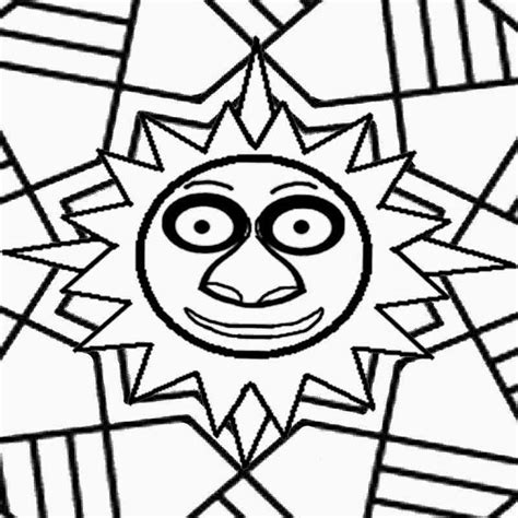 symmetrical coloring pages coloring home