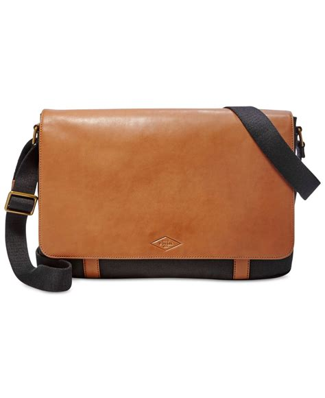 Fossil Aiden Ew City Bag messenger bags for fossil www pixshark images