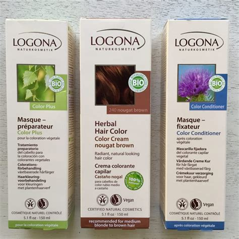 organic hair color products logona organic hair color brand review the organic label