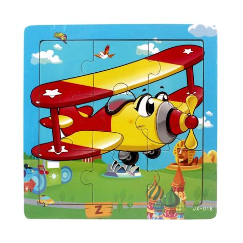 Learning Puzzle wooden jigsaw toys for children education
