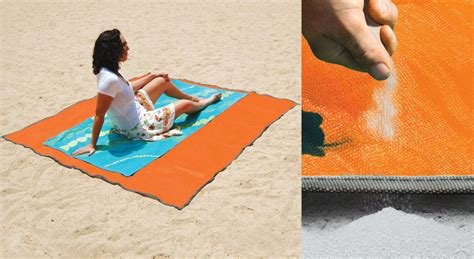 sandless mat repels sand dust and water