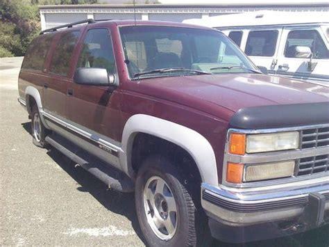 1993 chevrolet suburban 1500 5 7l engine motor 19964240 find used 1993 chevrolet k1500 suburban silverado sport utility 4 door 5 7l in kelseyville