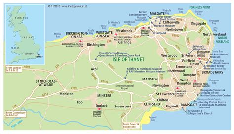printable map kent plan your visit to margate broadstairs and ramsgate