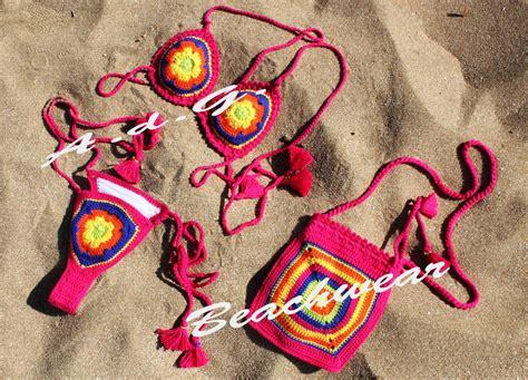 Costumi Da Bagno Uncinetto by Colorato Costumi Da Bagno Donna All Uncinetto