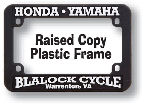 Typenschild Motorrad by Motorcycle Raised Copy License Plate Frame Wholesale China