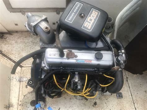 volvo penta  gs boat engine  bedford bedfordshire gumtree