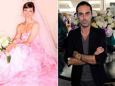 hochzeitskleid jessica biel 15 best celebrity top designer wedding dresses celebrity