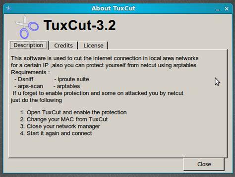 tutorial memakai netcut internet tuxcut pemotong koneksi internet