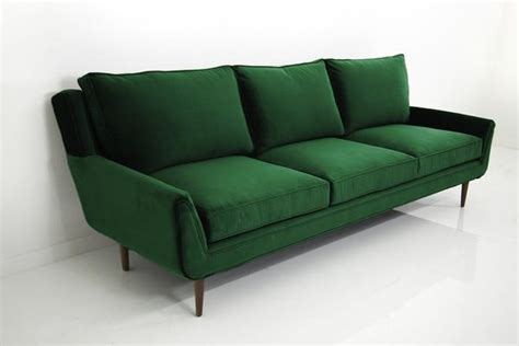 Kitchen Cabinets Stores stockholm sofa in emerald green velvet modshop