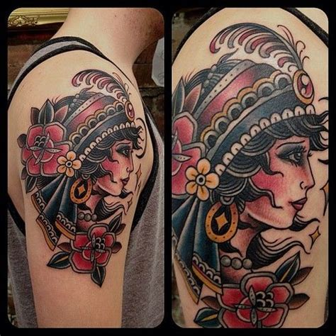 gypsy tattoo best 25 design ideas on thigh
