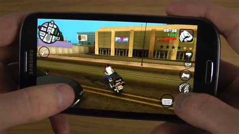 gta san andreas free for android grand theft auto san andreas samsung galaxy s3 android 4 3 hd gameplay trailer