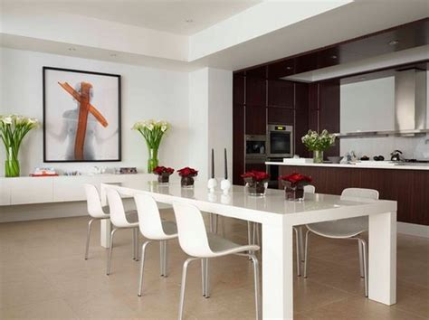 modern large dining room tables home decorating ideas