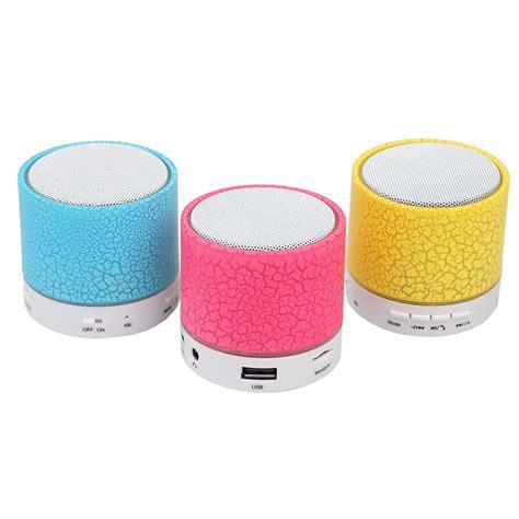 Speaker Bluetooth A9 led mini bluetooth speaker a9 tf usb fm wireless portable