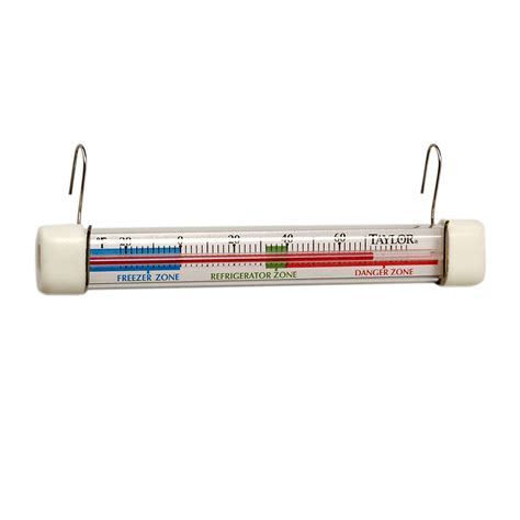 Termometer Freezer 5977n refrigerator freezer thermometer safe temperature zone indicator