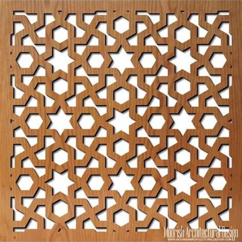 geometric jali pattern jali screen moroccan decorative screens geometric wood
