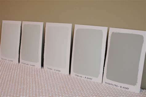 Sherwin Williams Sand Dollar oversized paint samples simply organized