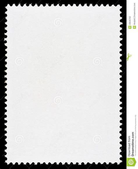 leere briefmarke schablone stockfoto bild 43645763