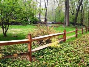 Corner Lot Landscaping Ideas by 2 Rail Rustic Split Rail Fence Wood Fence Pinterest