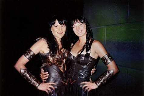lucy lawless in spiderman lucy lawless and her xena the warrior princess stunt