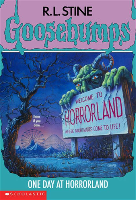 one day film and book one day at horrorland goosebumps wiki fandom powered