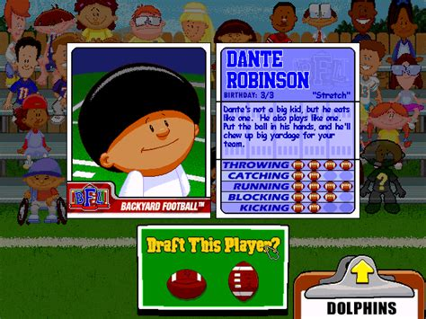 dante robinson backyard baseball ranked the 29 best players from the backyard sports