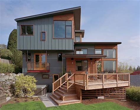 house redesign front view zipper house modern remodel house by deforest
