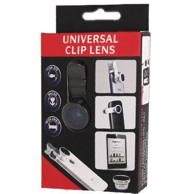Samsung Tab Batam universal 3 in 1 clip lens 180 degree 0 67x wide angle macro lens for smartphone and tablet