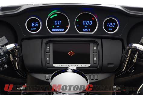 harley davidson baggers dakota digital releases led gauges