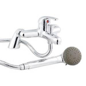 Mixer Bath Taps With Shower premier eurostyle single lever bath shower mixer tap
