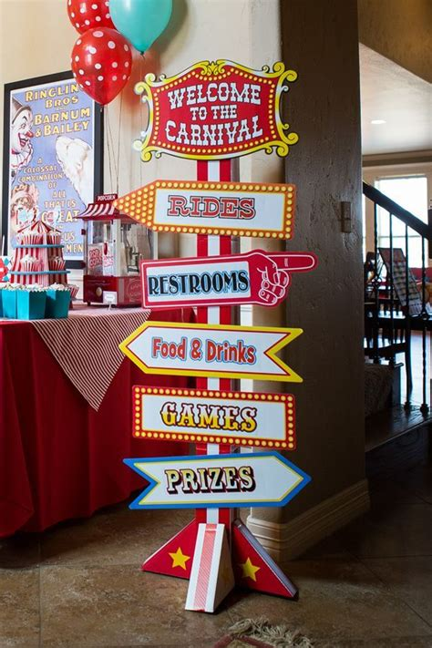 circus theme decor best 25 circus decorations ideas on carnival