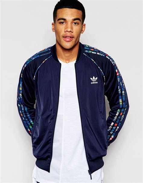 Reversible Track Jacket adidas originals reversible track jacket with shoebox