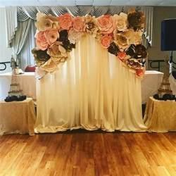 wedding backdrop paper flowers the 25 best ideas about paper flower backdrop on flower backdrop paper flower wall
