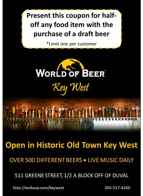 key food printable coupons live entertainment key west florida keys discount