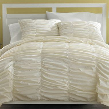 Jcpenney Duvet Covers Harlow Duvet Cover Set Jcpenney Ivory 84 99 For The