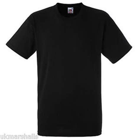 Indomaret Lop Polos No 90 fruit of the loom plain black t shirt 100 cotton
