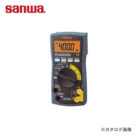 Multimeter Sanwa Cx506a 楽天市場 三和電気計器 sanwa 標準 ケース一体型デジタルマルチメータ cd800a