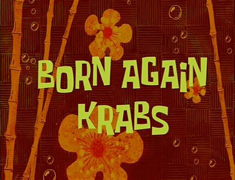 Born Evil Three gordok s top 10 least favorite spongebob episodes from