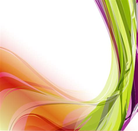 colorful wallpaper eps abstract colorful wavy vector background free vector