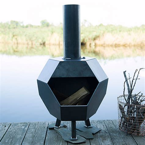 Flue For Chiminea Prism Steel Chiminea Accessories Better Living