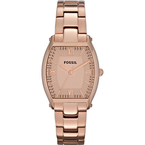 Fossil Rantai Rosegold Cover Black fossil watches for official fossil watches