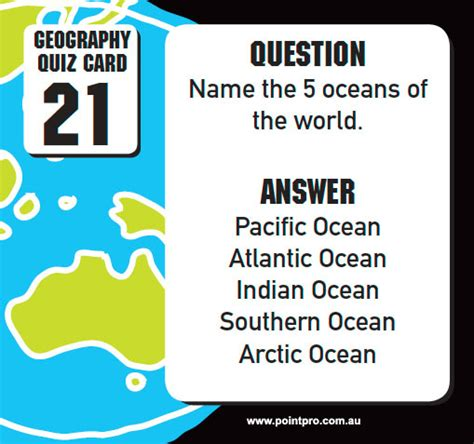 layout features quiz geography quiz cards point production and design