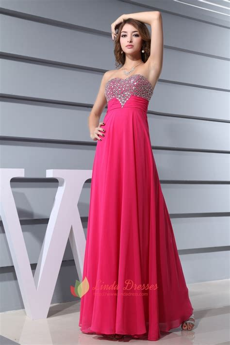 www dress hot pink prom dresses with diamonds 2016 for women fuschia
