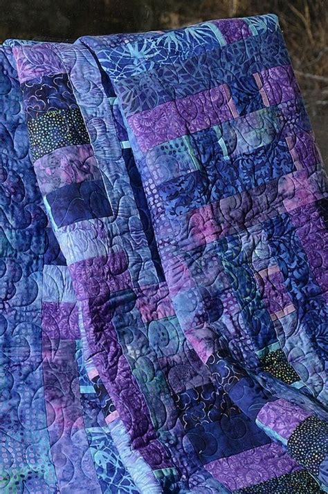 Beautiful Quilt by Beautiful Quilt In Purples Sewing And Other Needlework