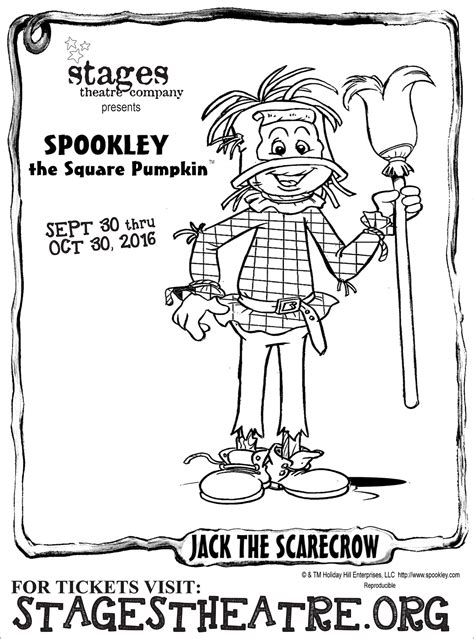 square pumpkin coloring pages spookley the square pumpkin stages theatre company